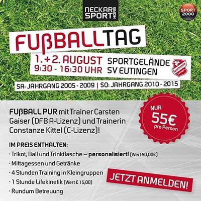 Fußballpur für Kinder der Jahrgänge 2005-2009 und Lifekinetik Training mit Coach Carsten Gaiser